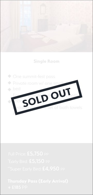 Single Room Chateau_Sold Out_1
